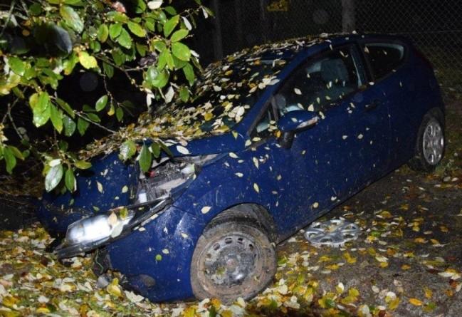 Tínedžeri ukradli auto, potom s ním havarovali