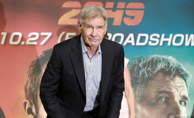 Herec Harrison Ford pomohol žene pri dopravnej nehode