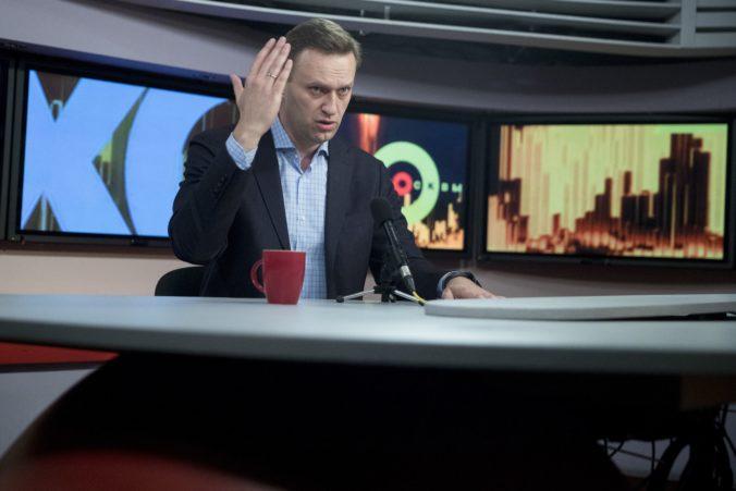 Ruský súd nariadil zavrieť nadáciu opozičného lídra Alexeja Navaľného