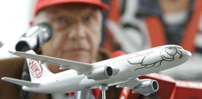 Niki Lauda kupuje späť zbankrotovanú leteckú spoločnosť Austrian airline Niki