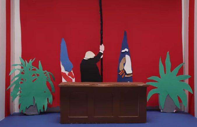 U2 zverejnili animovaný videoklip k piesni Get Out Of Your Own Way, v novinke sa objavil aj Trump