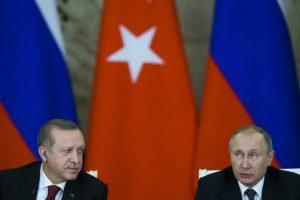 Erdogan telefonoval s Putinom, témou rozhovoru bola situácia v Sýrii