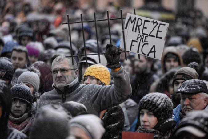 Na východe v zhromaždeniach Za slušné Slovensko budú pokračovať