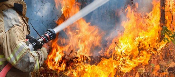 Hasiči varujú pred zvýšeným nebezpečenstvom požiaru v oblasti Košíc