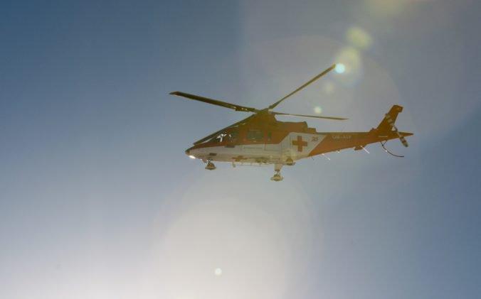 Leteckí záchranári ratovali horolezca, v Štiavnických vrchoch padal 30 metrov