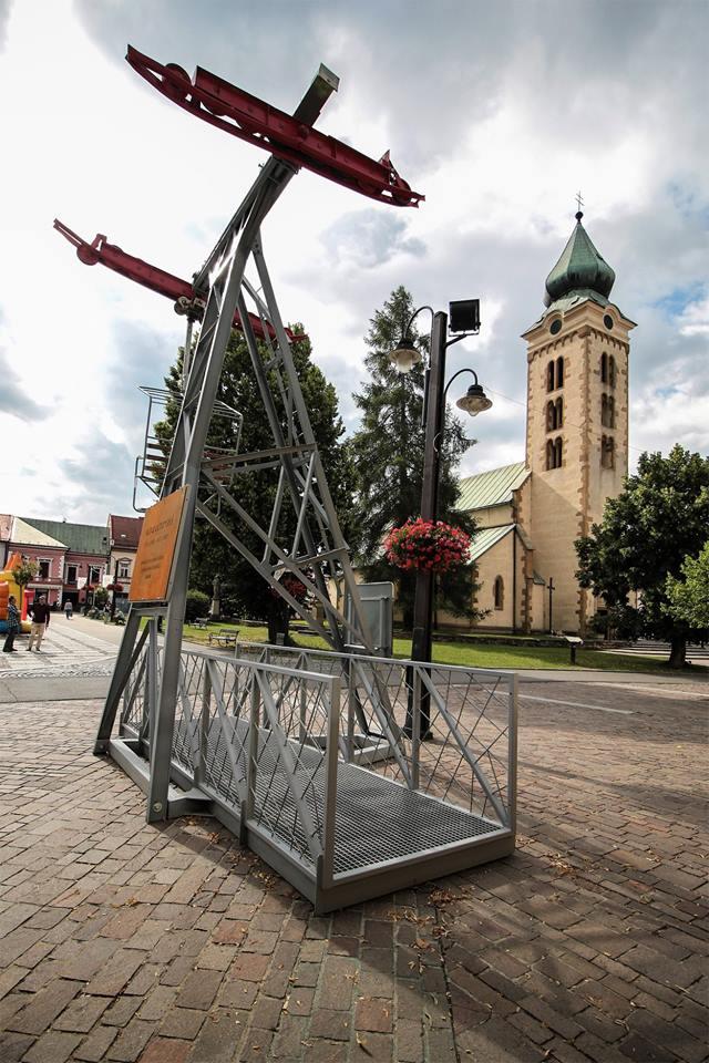 Liptovský Mikuláš má novú dominantu, v centre mesta láka návštevníkov lanovka z roku 1949