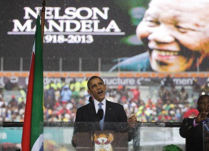 Na výročie narodenia Nelsona Mandelu vystúpi aj exprezident Obama, v prejave pošle výzvu mladým