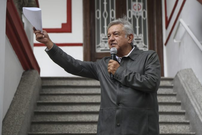 Nový mexický prezident pristúpi k úsporným opatreniam, svoj plat si chce výrazne znížiť