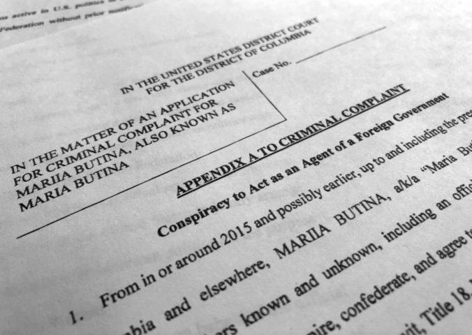 Rusku Butinovú obvinili v USA za špionáž, vraj pracovala na spojení Kremeľ – americkí politici