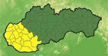 Slovenský hydrometeorologický ústav vydal výstrahu 1. stupňa pred búrkami na západe Slovenska