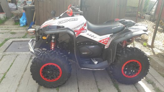 CAN AM RENEGADE 1000 XXC TOP STAV
