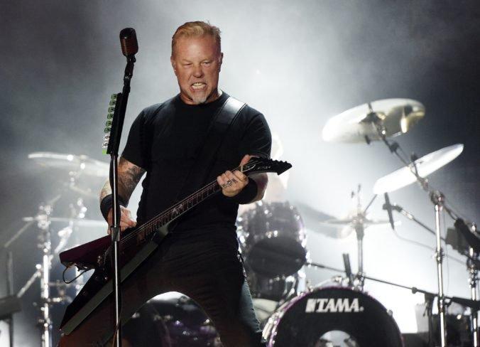 Kapela Metallica na budúci rok zahrá vo Viedni, Prahe a Varšave