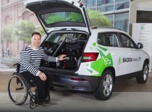 ŠKODA Handy Mobility Tour: Dôstojnejšia preprava pre ľudí so zdravotným znevýhodnením