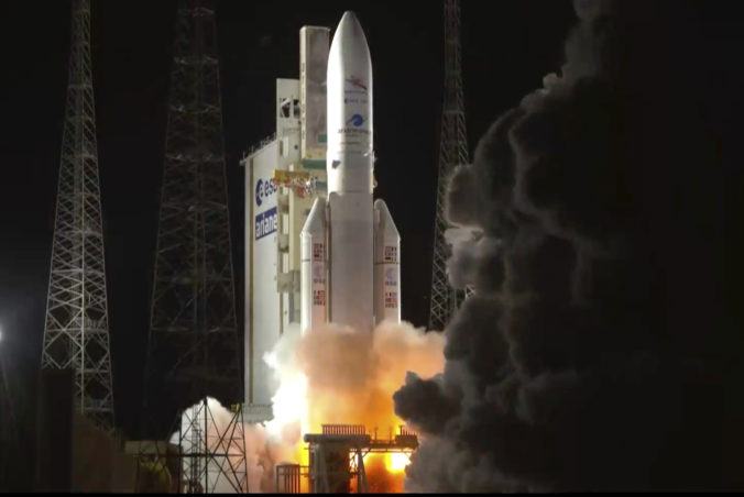 Európski a japonskí vedci vyslali do vesmíru loď BepiColombo, bude skúmať povrch planéty Merkúr