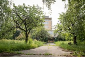 V areáli Novej Cvernovky na Račianskej ulici v Bratislave chcú vybudovať nový park