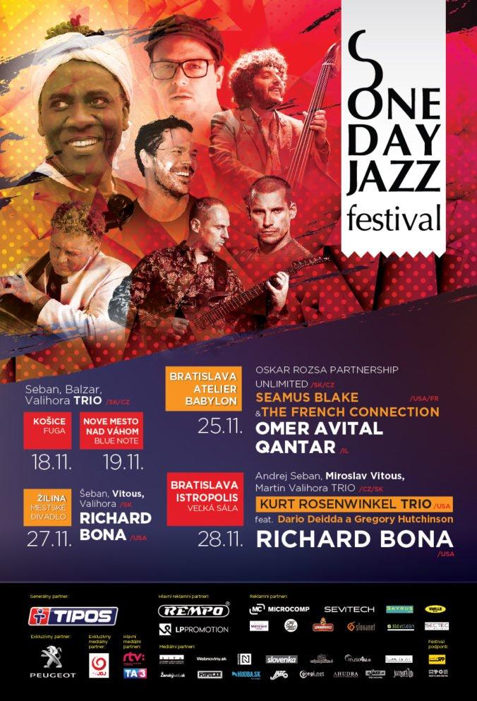 Desiaty ročník ONE DAY JAZZ Festivalu štartuje o dva dni!