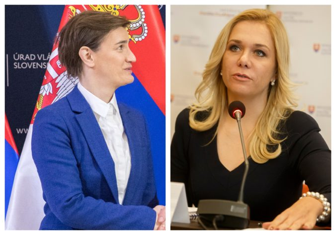 Srbsko plánuje reformovať verejnú správu, Saková premiérke Brnabič popísala slovenskú skúsenosť