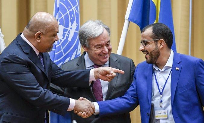 Jemenská vláda a húsíovia urobili krok k ukončeniu konfliktu, dohodli sa na prímerí v Hudajde