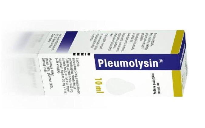 Šarže kvapiek Pleumolysin sťahujú z trhu, zistili nedostatok v ich kvalite