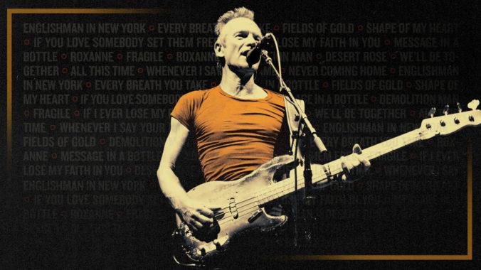 Sting sa začiatkom leta vráti na Slovensko, ponúkne veselú a rockovú dynamickú šou
