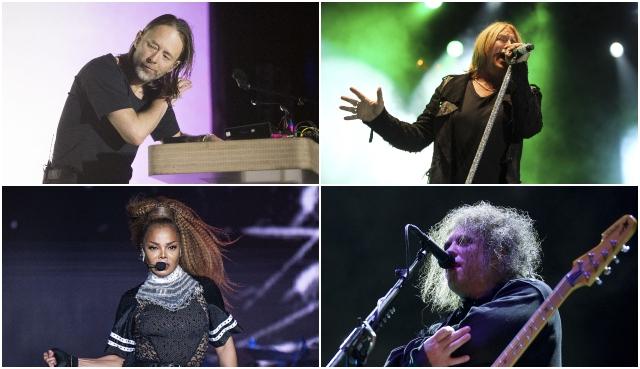 Do Rock'n'rollovejsieneslávy uvedúaj Radiohead, The Cure, Def Leppard a Janet Jackson