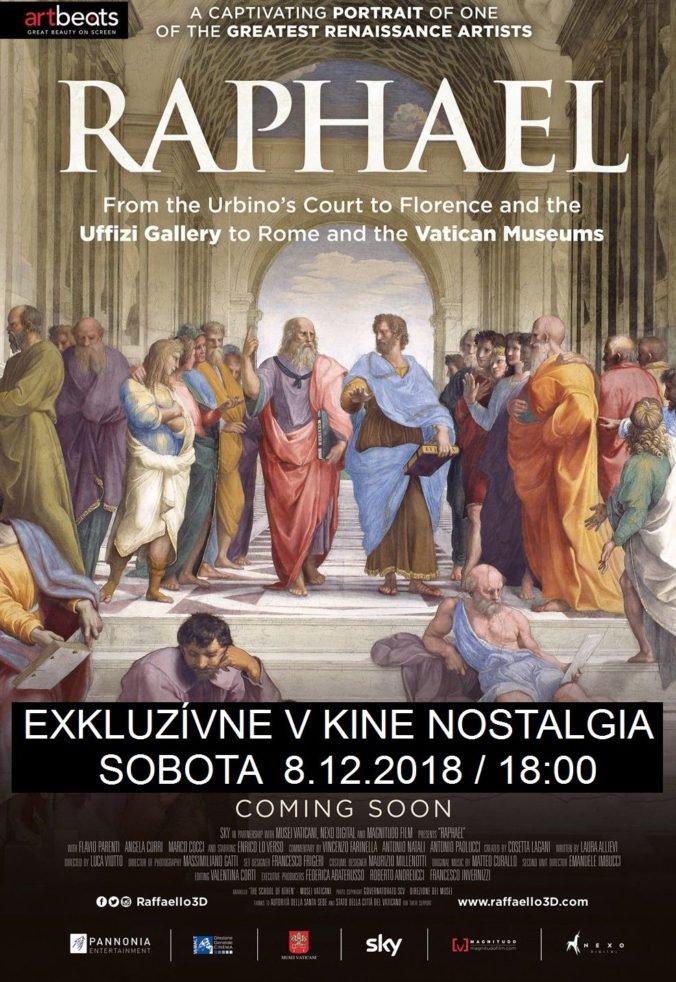 Na plátne Nostalgie renesančný majster Raffaello